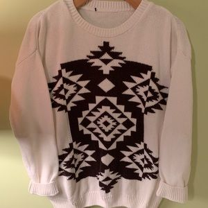 Vintage Aztec Sweater